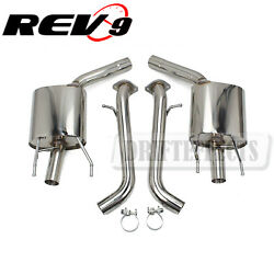 Rev9 Flowmaxx Stainless Axle-back Exhaust 60mm Pipe For Lexus Gs350 L10 13-16