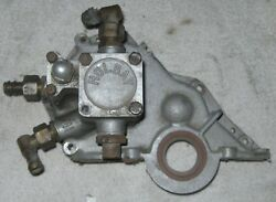 Holbay Formula Ford Ff 1600 Xflow Dry Sump Oil Pump And Timing Cover Lotus 61 Orig