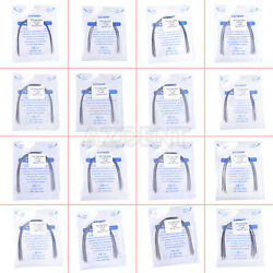 10pcs/kit Orthodontic Stainless Steel Arch Wire Rectangular Natural Form Uk