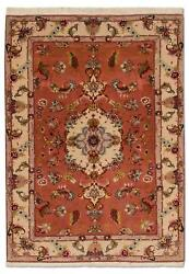 East Rug 57 78x40 78in Oriental Rug Orange Hand Knotted Fine Luxury