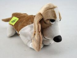 """Basset Hound Hush Puppy Plush Toy by Applause 7"""" Long Vintage"""