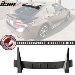 Fits 18-21 Toyota Camry Roof Spoiler - Matte Black