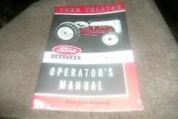 1948 1949 1950 1951 1952 Ford 8n Tractor Tractors Owners Operators Manual New