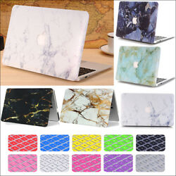 2in1 Art World Map Marble Matte Hard Case Shell For Macbook Pro 13 15touch Bar