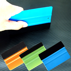 Vehemo 1pc Car Window Cleaning Scraper Squeegee Auto Car Wrap Tools Glass Clean