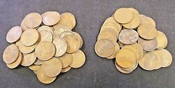 92 1910-1919 Lincoln Wheat Cents Nice Mix Dates And Mint Marks Reduced 4/21 5747