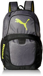 New With Tags Puma Contender Evercat Bag Backpack Black Grey Gold $23.49
