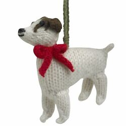 Arcadia Home Jack Russell Terrier Ornament Set of 2