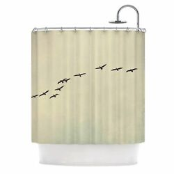 East Urban Home Cristina Mitchell in Flight Photography Shower Curtain