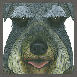 Marmont Hill 'Terrier' Framed Acrylic Painting Print