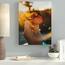 Ebern Designs 'Meditation and Calming (29)' Photographic Print on Canvas