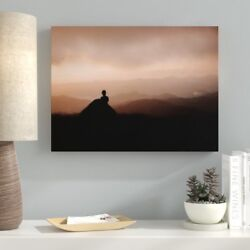 Ebern Designs 'Meditation and Calming (47)' Photographic Print on Canvas