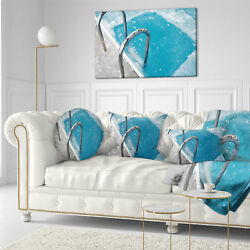 East Urban Home Photography Ice Swimming Pool Throw Pillow