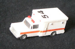 Box Ambulance - N-5150 - Easy To Build N Scale Kit - Made In The Usa