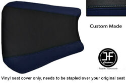 Navy Blue Black Vinyl Custom 02-03 For Yamaha 1000 Yzf R1 Front Seat Cover Only