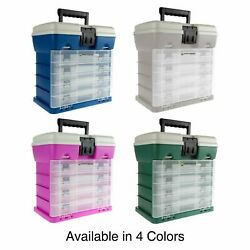Fishing Tackle Box Tool Box Storage Compartments Portable Adjustable Utility
