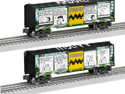 Lionel Trains6-84677 Peanuts Comic Art - Meadow Boxcar Rolling Stock Oh, Good...