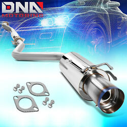 4burnt Tip Stainless Steel Exhaust Catback System For 01-05 Altezza Is300 Xe10