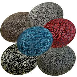 Round Shape Coverchinese Rayon Brocade Floor Chair Seat Cushion Case Bl16