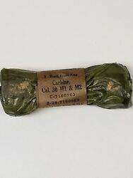 Us Gi M1 Carbine Type 3 Front Bands. Original Pack Of 2 Pieces. New Old Stock.