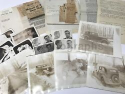 Grierson Brothers Jewel Heists 1930s-1940s Archive Of Photography And Documents