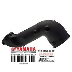 Yamaha Oem Outer Cover Exhaust 67x-41123-00-8p