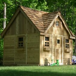 Outdoor Living Today Laurens Cottage 9.17' x 8.75' Playhouse