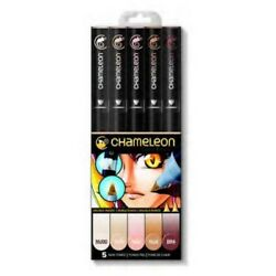 Chameleon Changing Color Art Pens 5 Skin Tones CT 0510