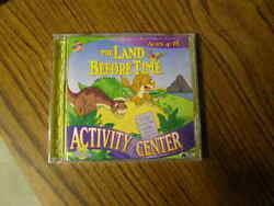 1077 The Land Before Time Activity Center Win/mac Cd-rom Ages 4-8 Sealed