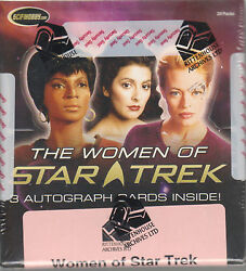Women Of Star Trek 2010 - A Factory Sealed Archive Box
