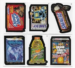 2004-2013 Topps WACKY PACKAGES ANS SERIES 1-11 SETS   (11 sets  630 cards)