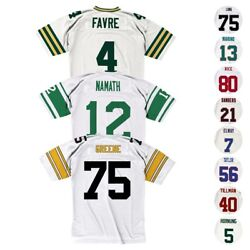 Nfl Mitchell And Ness Throwback Player Road White Legacy Jersey Collection Men's