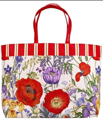 NEW Estee Lauder Floral Design Tote Bag Beach Bag Shopping Bag*