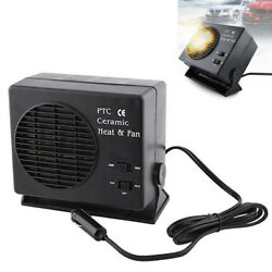 12V 300W150W Auto Car Portable Ceramic Heater Fan Vehicle Defroster Demister
