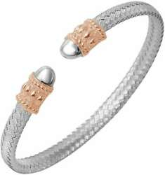 Charles Garnier - Mattei - And Rose-gold-plated Sterling Silver Cuff Bracelet