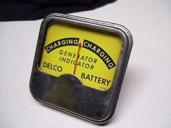 Vintage GM AC Delco auto Battery alternator charge tester meter gauge tool chevy