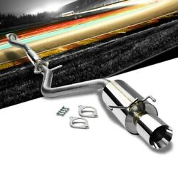 4.00 Roll Muffler Tip Catback Exhaust System For Lexus 01-05 Is300 Altezza Xe10