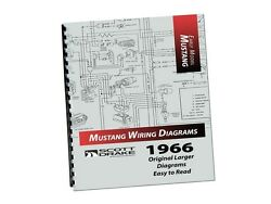 1966 Ford Mustang - Pro Wiring Diagram Manual Large Format/exploded View