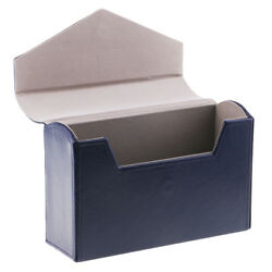 Banknote Collection Box Paper Money Holder Pocket Xmas Gift Blue
