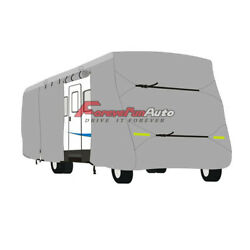 New 25and039-27and039ft Motorhome Rv Cover Class A Camper Winter Storage Rain Snow
