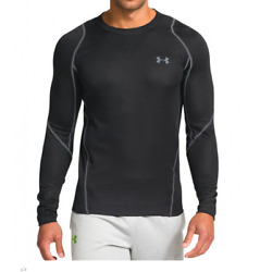 New Mens Under Armour Muscle Infrared Athletic Gym Grid Crew Tee Top Jacket