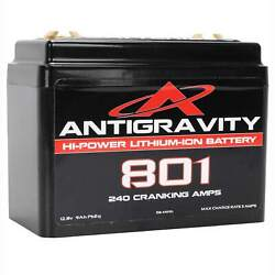 Antigravity Batteries 8 Cell Lithium Battery Ag-801 Small Case Motorcycle Harley