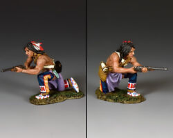 Kneeling Plains Indian With Carbine Trw131 King And Countryand039s Custers Last Stand