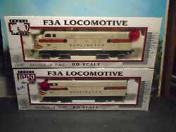 Proto 1000 Ho Scale 8165/66 F3a Powered Locomotive 116/120 Dcc Equipped