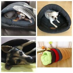 Dog Cad Bed Small Dog Kennel puppy Small House Cat Sleeping Bag Pet Warm Nest
