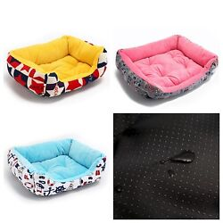 Dog Cat Bed House Bench Cushion Pet Mat Hand Wash Products Durable