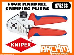 Knipex 975263 - Four Mandrel Crimping Pliers - 180mm - Opening Spring