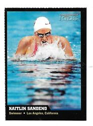 2006 Sports Illustrated For Kids Kaitlin Sandeno USA Swimmer VG-EX Card #27