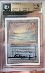 Vintage Magic | GEM MINT BGS 9.5 MTG Unlimited Underground Sea, QUAD+10