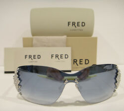 FRED 8149 Sunglasses Lunettes PEARLS F1 Color 402 Authentic Brand New $399.95